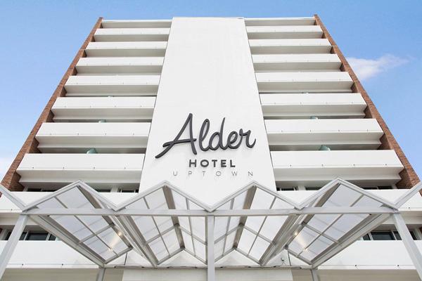 Alder Hotel ground view